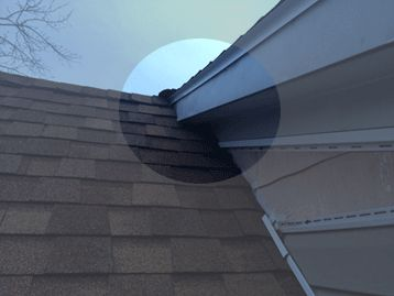 roof intersection on an Upstate NY home