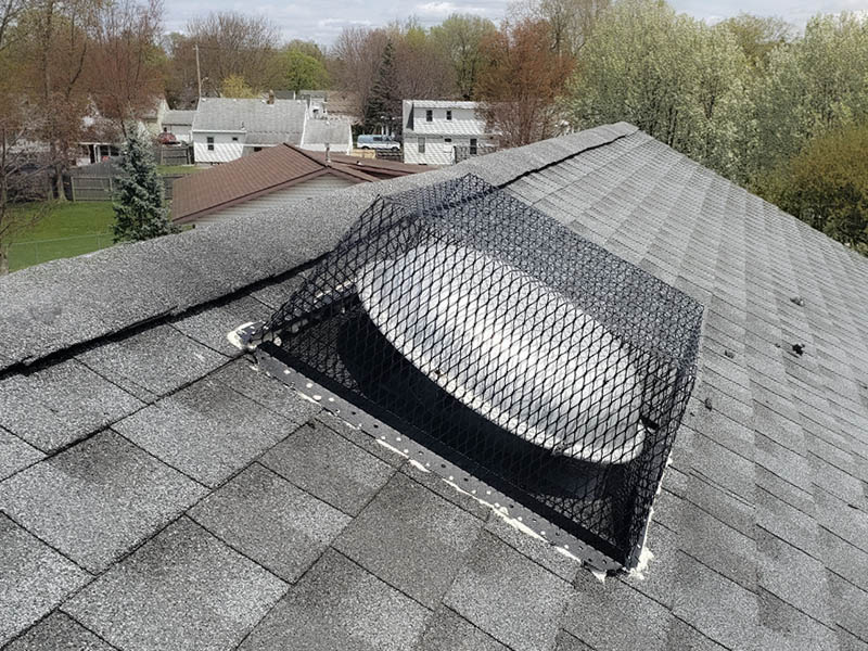 roof vent cover grate